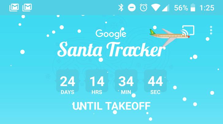 [Ho ho ho] Google's Santa Tracker app updated for 2017