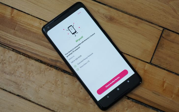 T-Mobile's new app tells you if a phone supports Extended Range LTE and VoLTE