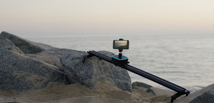 Trek is a portable motorized slider for smartphones and GoPros, Indiegogo pre-orders available for one more week