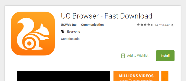 """[Update: It's back] UC Browser temporarily removed from Play Store due to setting """"not in line with Google's policy"""""""