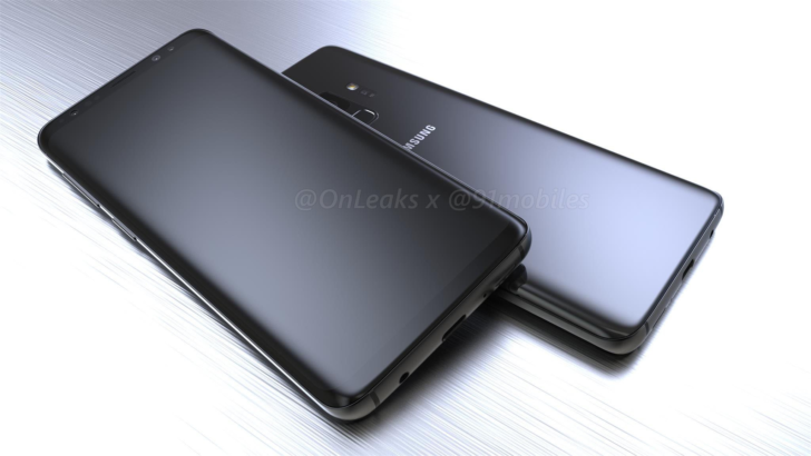 Samsung Galaxy S9 and S9+ CAD renders have arrived, and they look just as you'd expect