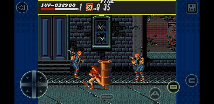 Classic brawler Streets of Rage is the latest Sega Forever game