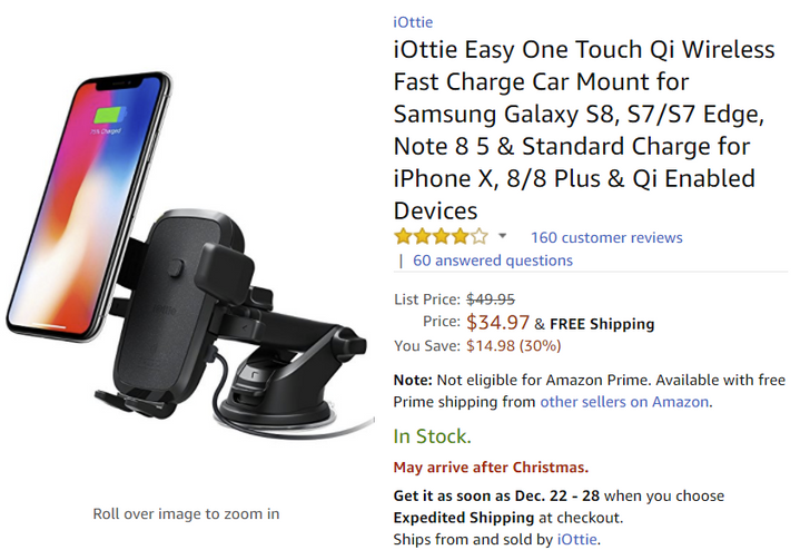 [Deal Alert] iOttie car mounts are Amazon's Deal of the Day and just $14-35 (30% off)