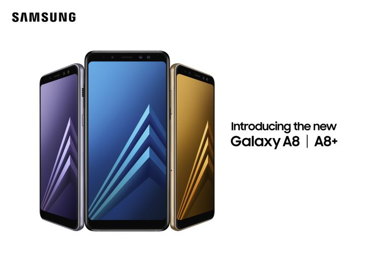 Samsung announces dual-camera wielding midrange Galaxy A8 (2018) and A8+ (2018)
