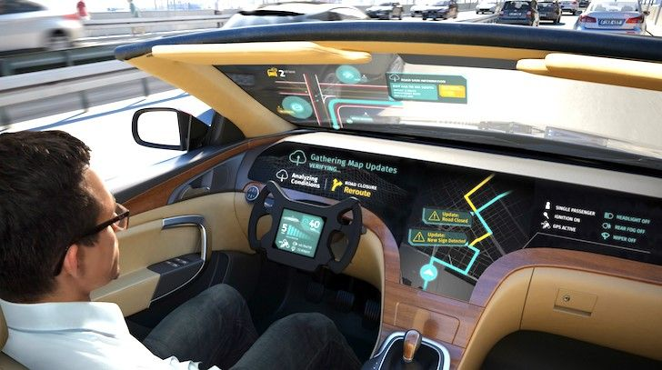 LG partners with former Nokia property HERE for autonomous vehicle information systems