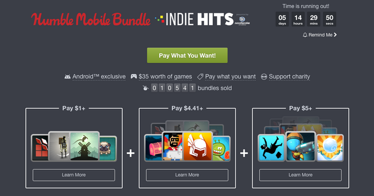 [Update: Winners] Win one of 10 free codes for the Humble 'Indie Hits' Mobile Bundle