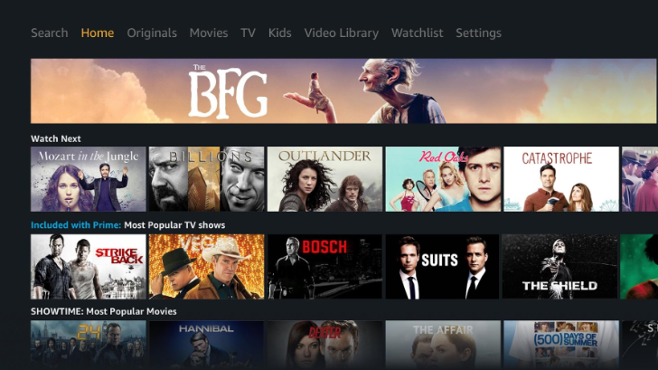 [Hell hath frozen over] Amazon releases Prime Video app for Android TV