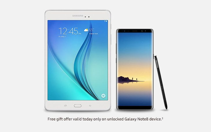 Deal Alert] Get a free Galaxy Tab A 8 0 with purchase of an