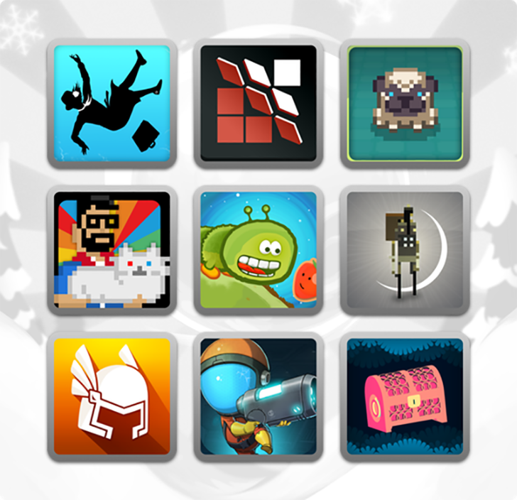 The Humble 'Indie Hits' Mobile Bundle includes 11 awesome Noodlecake games for one low price