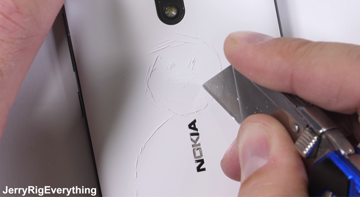 Nokia 2's metal design fares well in JerryRigEverything's durability tests