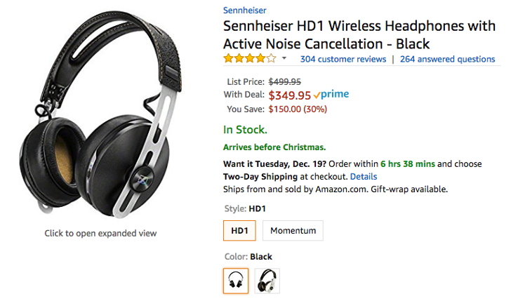 [Deal Alert] Sennheiser HD1 wireless headphones with active noise cancellation down to $350 ($150 off) on Amazon and Best Buy