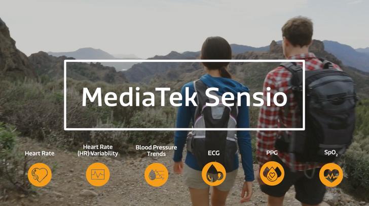 MediaTek announces Sensio 6-in-1 biosensor module for smartphones