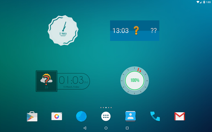 The popular Zooper Widget has been removed from the Play Store