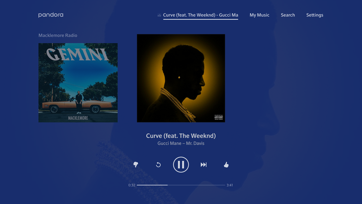 Pandora for Android TV adds premium subscription support, Google Assistant, and more