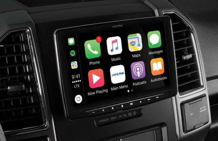 [Update: Now available for $900] Alpine announces Android Auto head unit with a 'floating' 9-inch display
