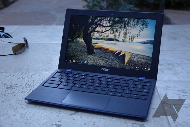 Acer Chromebook 11 (2018) hands-on: USB-C and a blue finish keep things fresh