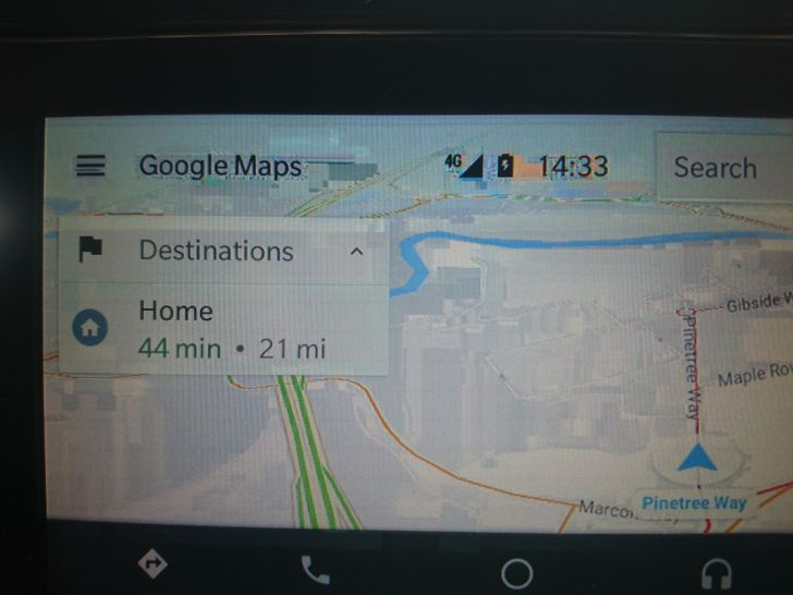 Fix for glitchy Google Maps visuals in Android Auto rolling out now