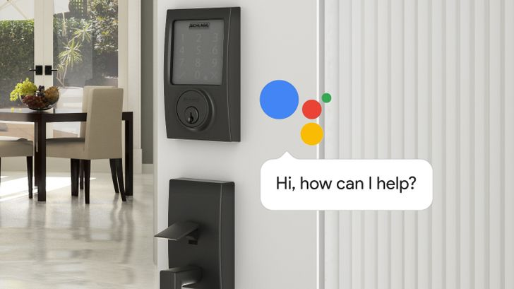 Schlage Sense Smart Deadbolt will soon integrate with the Google Assistant