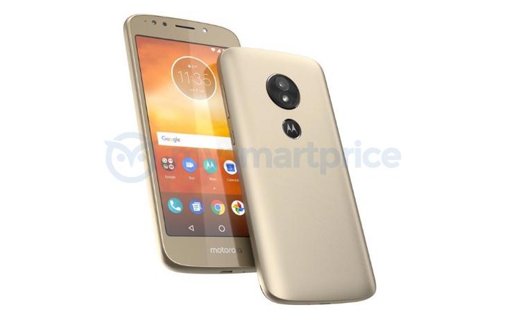 Moto E5 image leak reveals rear-mounted fingerprint sensor with Motorola logo on top
