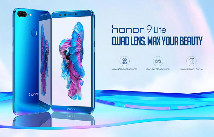Honor 9 Lite announced in India, with four cameras and 18:9 'FullView' FHD+ display