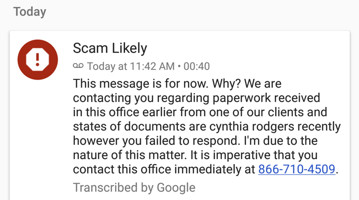 T-Mobile customers are now seeing voicemail transcripts in Google Phone app