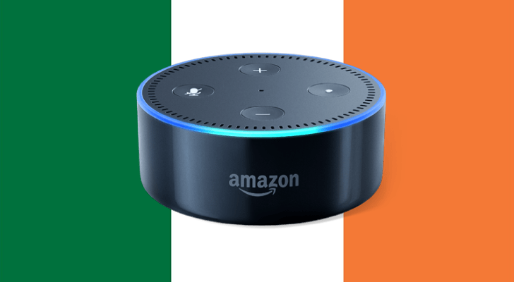 Amazon Echo products and Alexa now available in Ireland