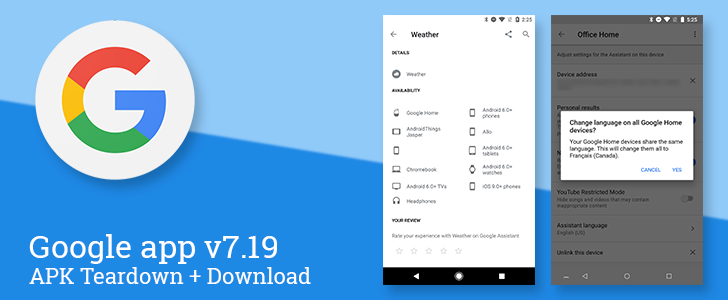 Google app v7.19 beta prepares Assistant to go bilingual, expands on smart display details, and hints at TV show identification [APK Teardown]