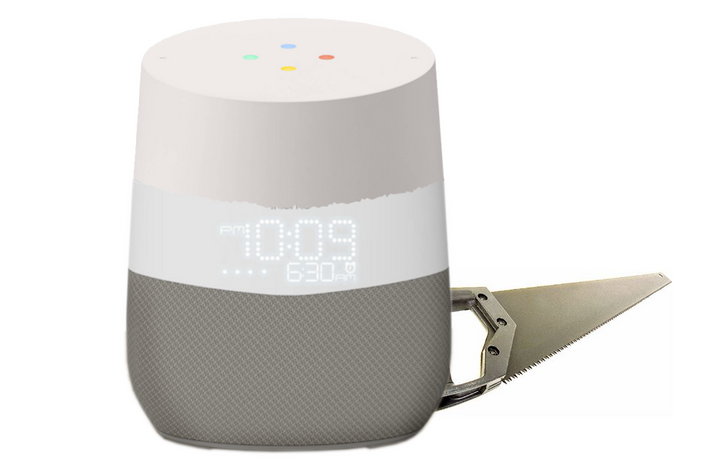 iHome makes a suspiciously familiar Google Assistant-powered smart bedside speaker
