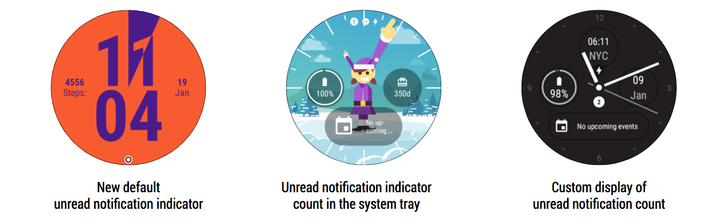 [Update: Rolling out now] Android Wear v2.9 will add unread notification counter and more