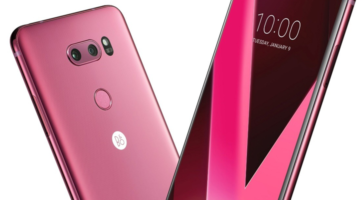 LG announces 'Raspberry Rose' V30 for CES