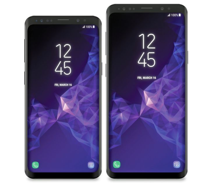 Alleged image of Galaxy S9 and S9+ leaks ahead of February announcement