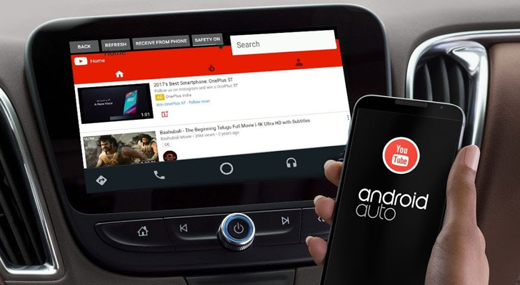 'YouTubeAuto' brings YouTube playback to your Android Auto unit
