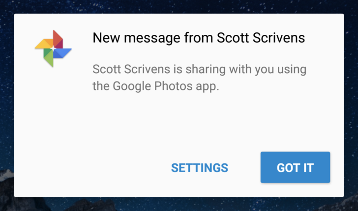Google Photos gets new sharing previews for users who don't have the app installed