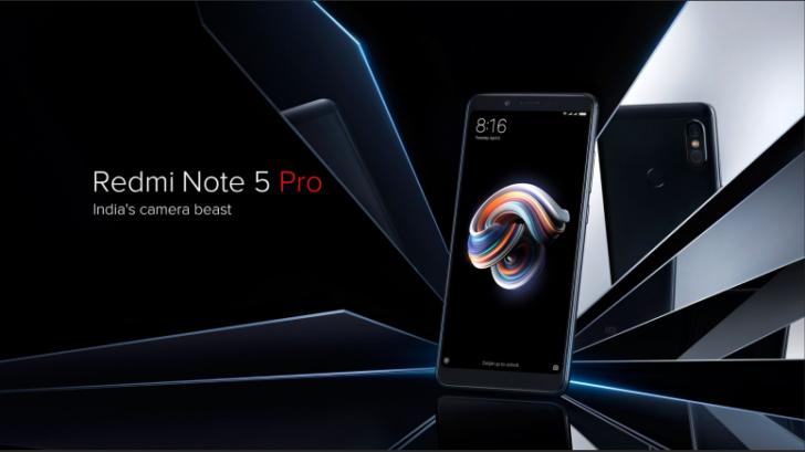 Xiaomi announces the Redmi Note 5 and Redmi Note 5 Pro for India