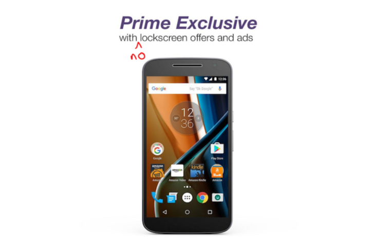 Amazon is refunding Prime Exclusive phone ad removal fees