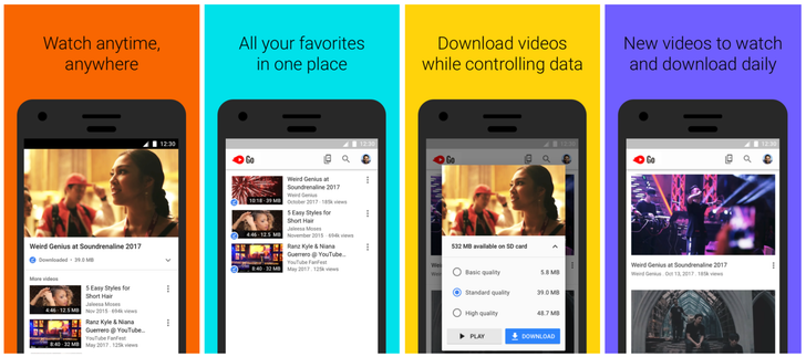 YouTube Go expands to more than 130 countries starting today