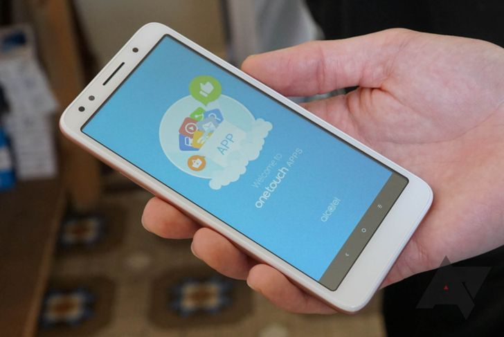 Alcatel reveals the world's first Android Go phone