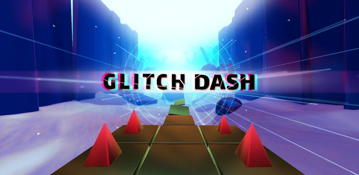 Glitch Dash is a brutally challenging auto-runner that demands quick and precise movement