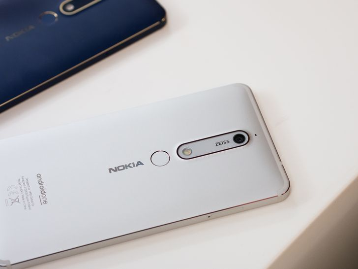Nokia launches four smartphones at MWC: the 1, 6 (2018), 7 Plus, and 8 Sirocco