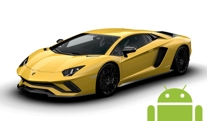 The 2018 Lamborghini Aventador S is the most expensive car you can get with Android Auto