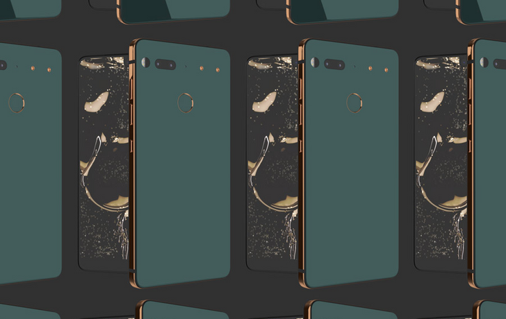Essential's stunning 'Ocean Depths' color for the PH-1 is coming on February 15th