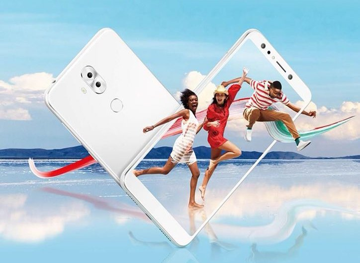 [Update: New colors] ASUS ZenFone 5 Lite leaks with 18:9 display and quad cameras