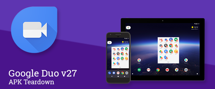 Google Duo v27 confirms multi-device support is coming with Google account linking [APK Teardown]
