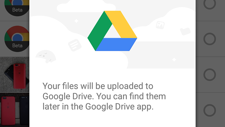 Files Go can now back up files to Google Drive