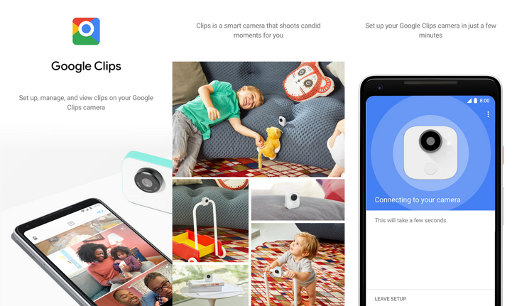 Google Clips app pops up on the Play Store ahead of the camera being delivered to anyone