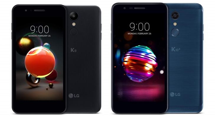 LG announces new K8 and K10 phones, with improved cameras and outdated software