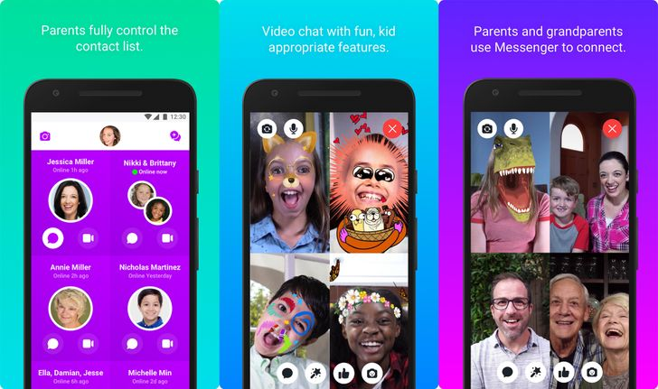 Facebook's Messenger Kids app comes to the Play Store