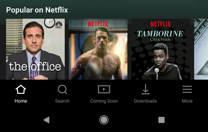 [Update: Rolling out to more users with latest Beta] Netflix unveils refreshed UI with bottom navigation bar in latest update (APK Download)