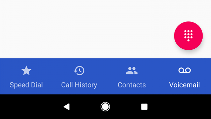 Google is testing a bottom nav bar in the Phone app