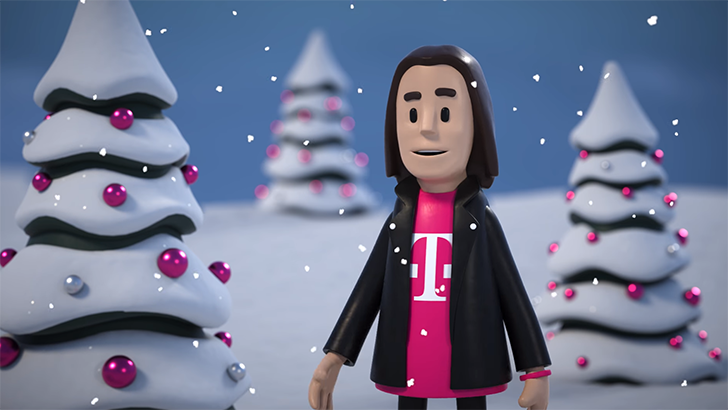 """AT&T files complaint over """"unsubstantiated, false, and misleading claims"""" in T-Mobile holiday commercial"""